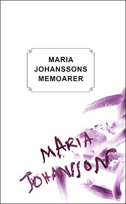 Omslag Maria Johanssons memoarer